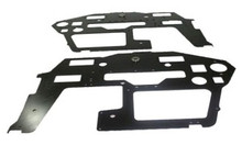 T-REX 600N FRP Side Frame Set (2mm) (2 sides)