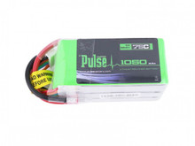 PULSE 1050mah 6S 22.2V 75C - LiPo Battery - Goblin 280 and FPV Racing Quad