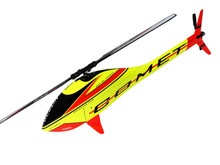 SAB Goblin Mini Comet (Yellow - Red) - w/ Competition Motor & ESC SG283