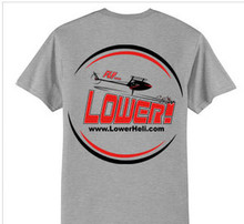 Lower! Flying Shirt Grey Medium