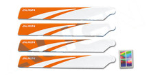 HD123B 120 Main Blades-White (Stable Flying)