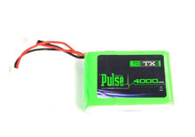 Pulse Lipo 4000mAh 7.4V (Transmitter Battery) - For DX7/DX8/DX9 TX