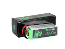 Pulse Lipo 4100mAh 22.2V 45C - Ultra Power Series PLU45-41006