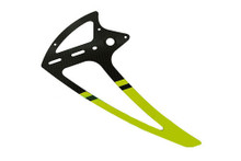SAB Carbon Fiber Tail Fin Yellow - Goblin 500 [H0242-S]