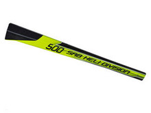 SAB Carbon Fiber Tail Boom Yellow/Black - Goblin 500 [H0278-S]