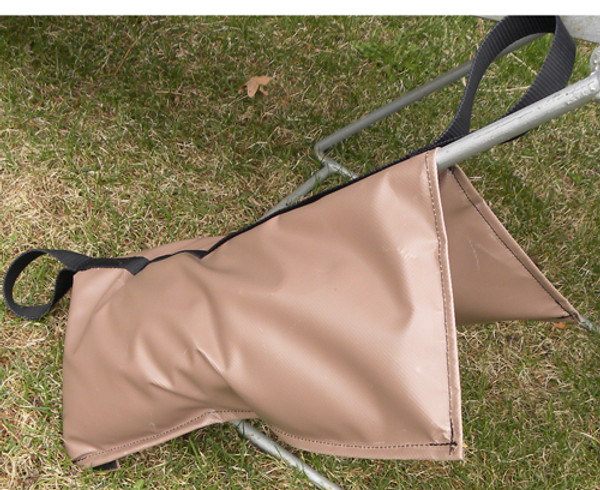 Weight Bag for anchoring agility equipment from getting knocked down or blown over.