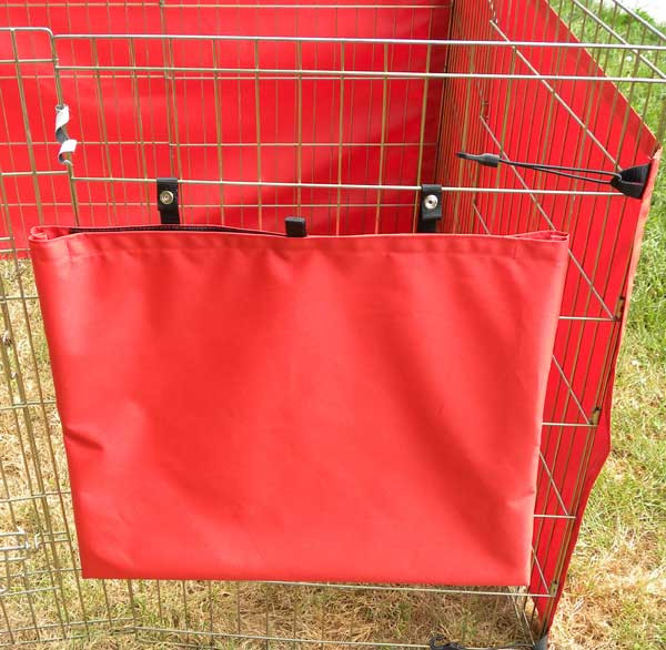 Storage bag included with all sides.