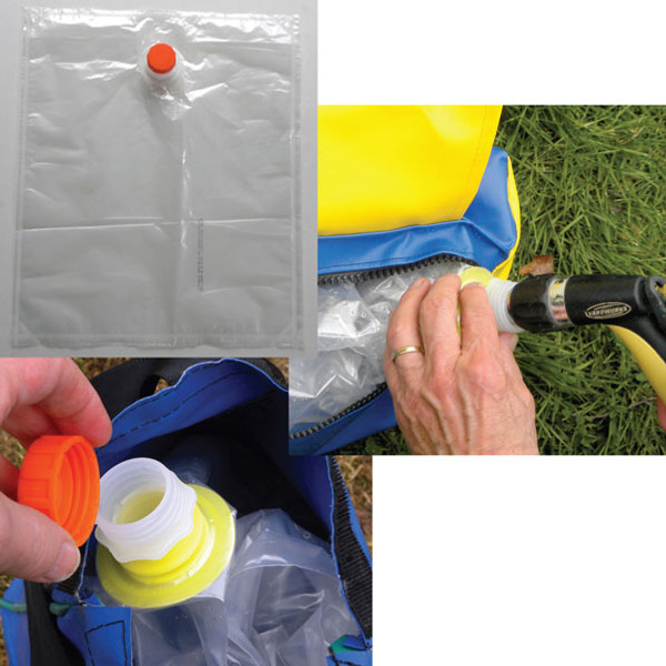 Tunnel Bag Water Bladder Inserts with Screw Caps