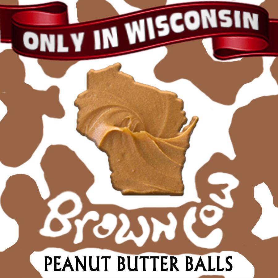 Brown Cow Peanut Butter Balls