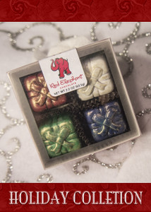 Christmas Truffles 4 Piece box