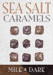 Sea Salt Caramel Milk & Dark  9 Piece Box