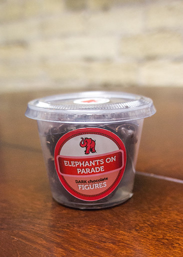 Packaged Elephant on Parade 10 Piece Dark Chocolate
