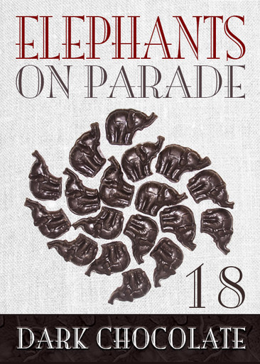 Elephant on Parade 18 Piece Dark Chocolate