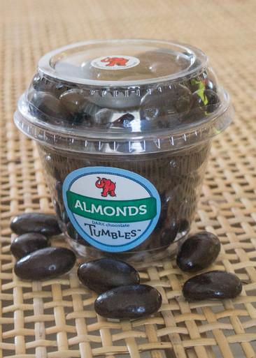 Dark Chocolate Premium Almonds Large Packaged