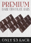 Premium Milk or Dark Solid Chocolate Bars (3 or More)