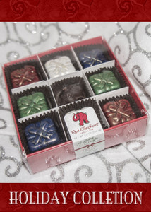 Christmas Truffle Collection 9 Piece box