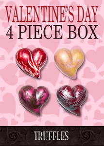 Valentine's Day 4 Piece Truffle Collection