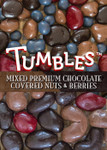 Tumbles premium mixed milk & dark chocolate covered berries and nuts