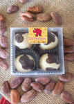 Big Cheese Truffle 4 piece box clear top sealed
