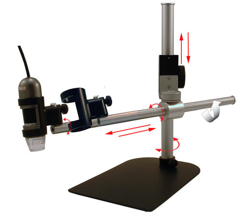 """MS36B Boom Stand, up to 10"""" horizontal and 8"""" vertical reach"""
