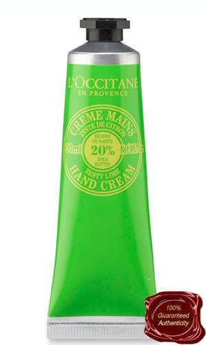 L'Occitane | Shea Butter Zesty Lime Hand Cream Travel Size