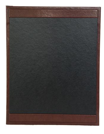 Bonded Leather Menu Boards