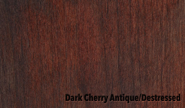 Dark Cherry Antique/Destressed