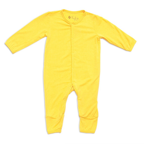 Bamboo Romper, Yellow