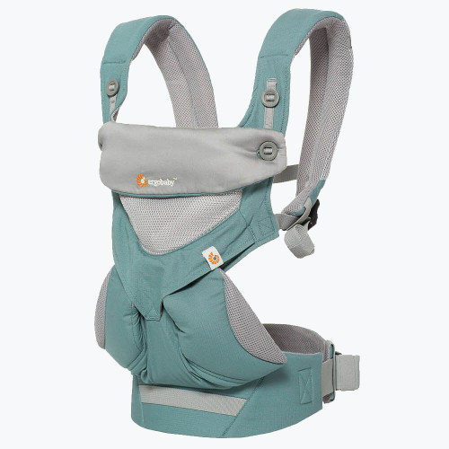 Ergo 360 Baby Mesh Carrier, Icy Mint
