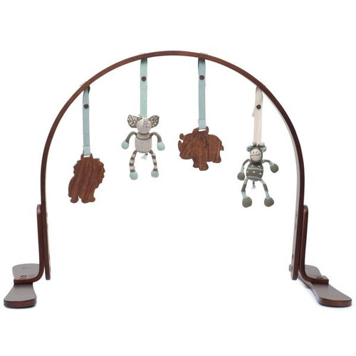 Safari Play Gym, Dark Wood