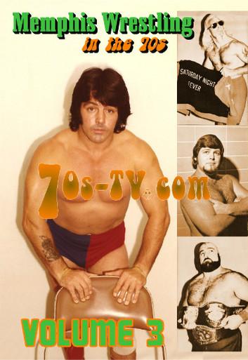memphis wrestling in the 70s dvd