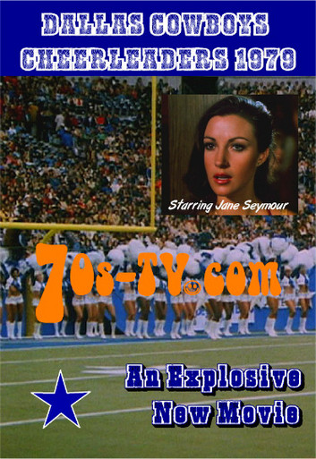 Dallas Cowboys Cheerleaders Movie 1979 DVD