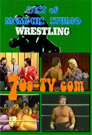 best of memphis studio wrestling dvd