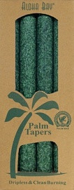 Coconut Wax Taper - Green