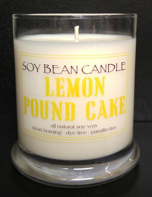 The mouth-watering aroma of warm lemon pound cake!  Our lemon pound cake combines fresh bakery notes of yellow pound cake with a sweet lemon glase and a hint of warm vanilla.