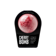 A cherry bath fizzer with a surprise inside  Life's a tub of cherries when you drop this fragrant fizzer into your bath. Hold it in your hand as it dissolves, because there's a surprise inside! This could be a small toy, charm, figurine, key chain or other item that coordinates with the name of the bomb itself. Perfect for adults and kids alike. (Everybody loves surprises.)   Warning: Small parts. Not for children under 3.