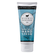 Blue Ridge Wildflower Hand Cream has been part of the Dionis product line for over 30 years, it is one of our signature scents and a customer favorite!   Fragrance Description: A light floral scent that evokes the glory of Virginia's upland meadows.