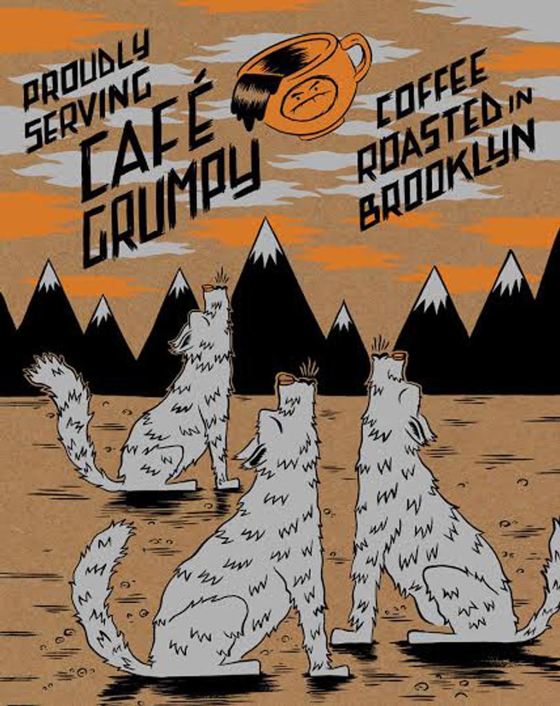 Three Coyotes Print