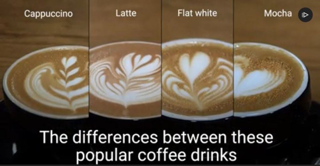 Flat white or latte? Here are all the big differences between some of the most popular coffee drinks