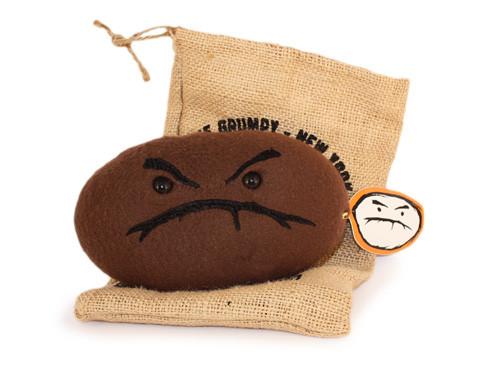 Plush Grumpy Bean (Roasted)