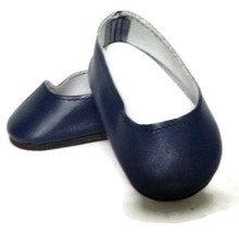 Slip On Dress Shoes-Navy