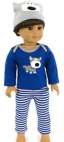 3 pc Doggy Pajama Set-Boy