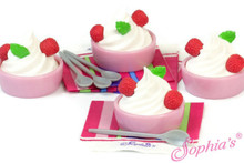 Yogurt Cups, Spoons, & Napkins Set