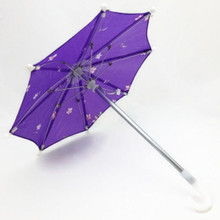 Umbrella-Purple Flower Print
