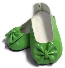 Bow Shoes-Green