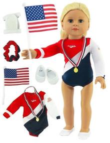USA Complete Gymnastics Set
