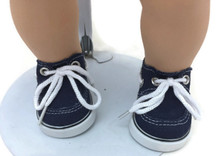 Boy Canvas Boat Shoes-Navy