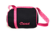 Black Dance Duffle Bag
