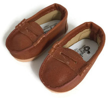 Brown Penny Loafer Shoes