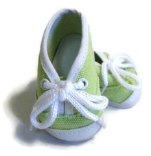 Canvas Tennis Shoes-Green